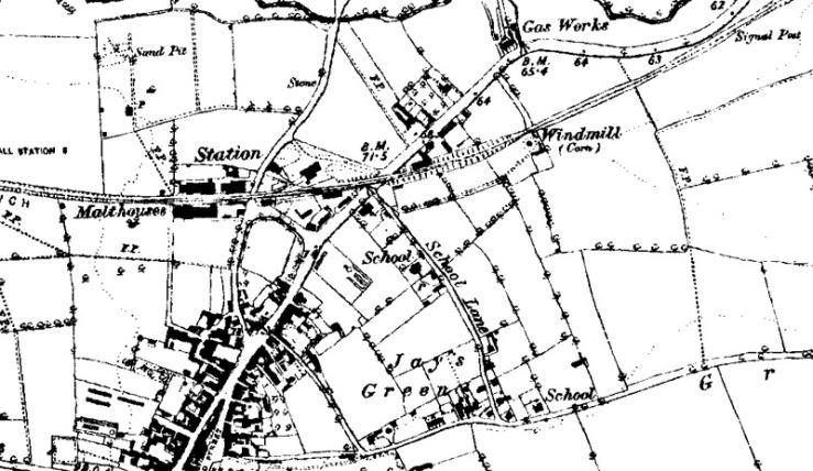 Harleston-Redenhall-Rd-post-1890